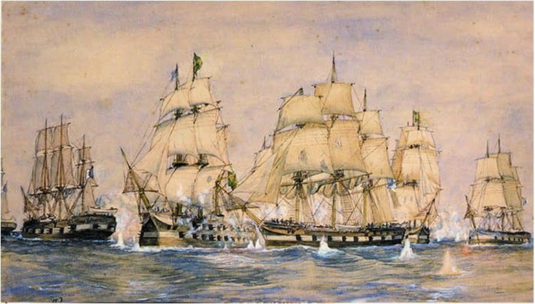 Batalha 4 de Maio de 1823: Guerra de Independência do Brasil