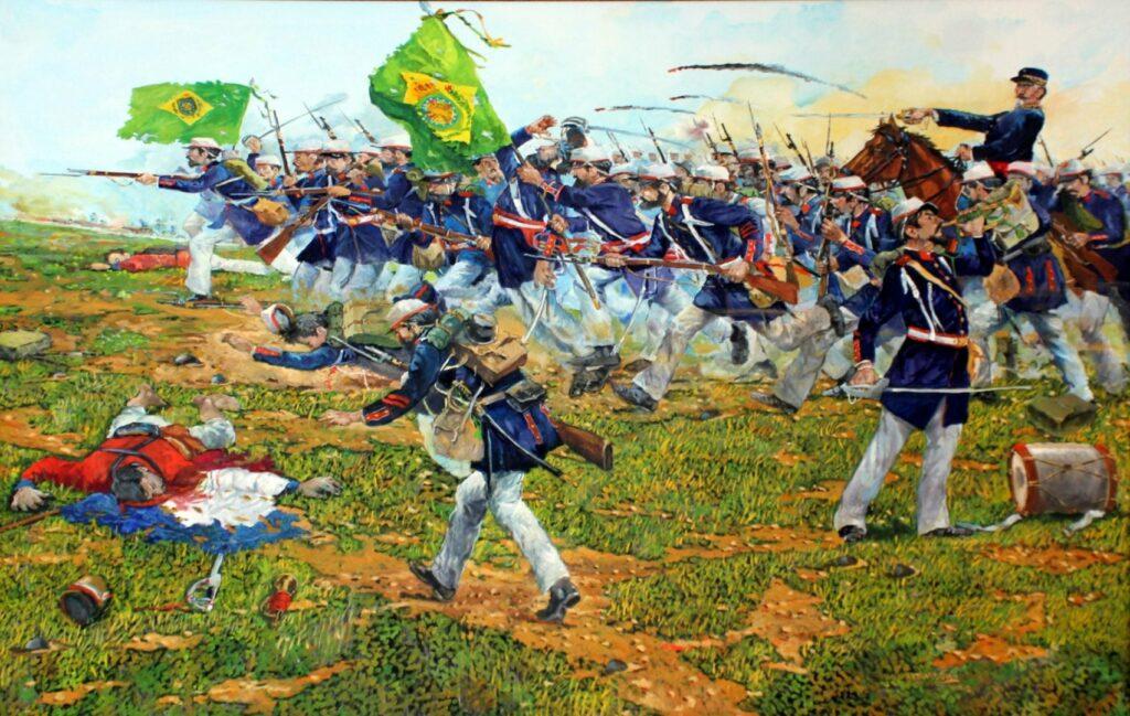 A 1º Batalha do Tuiuti