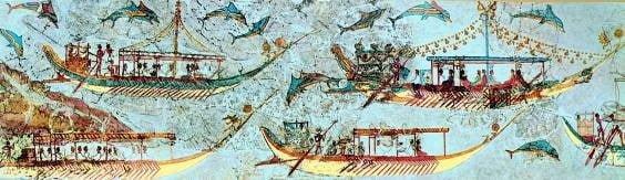 NAUTOCRACIA E THALASSOCRACIA: A LIDERANÇA GEOPOLÍTICA DE CRETENSES E ATENIENSES NO MAR EGEU