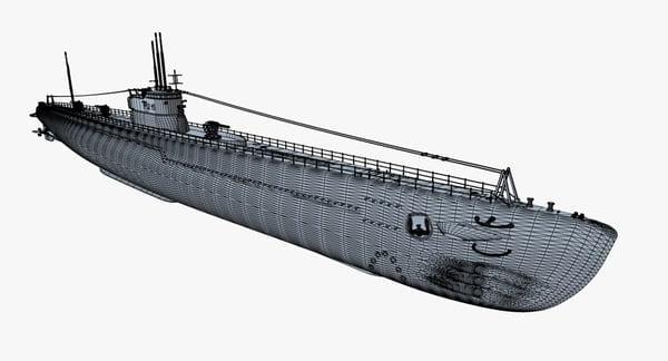 I52: Submarino Japonês afundado no Oceano Atlântico