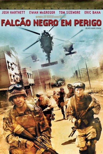 Filme Black Hawk Down (Falcão Negro em Perigo)